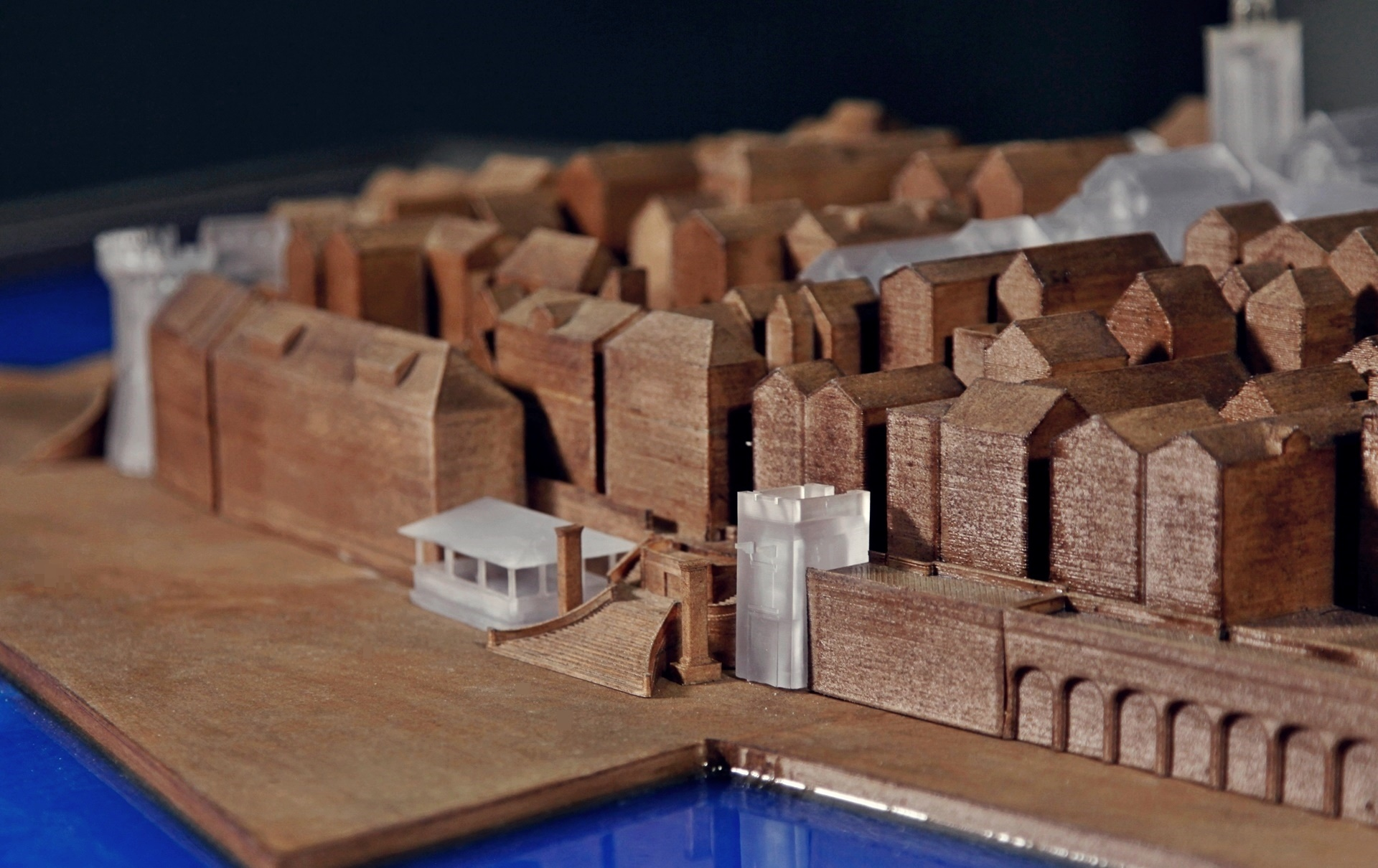 korčula city 3D printed