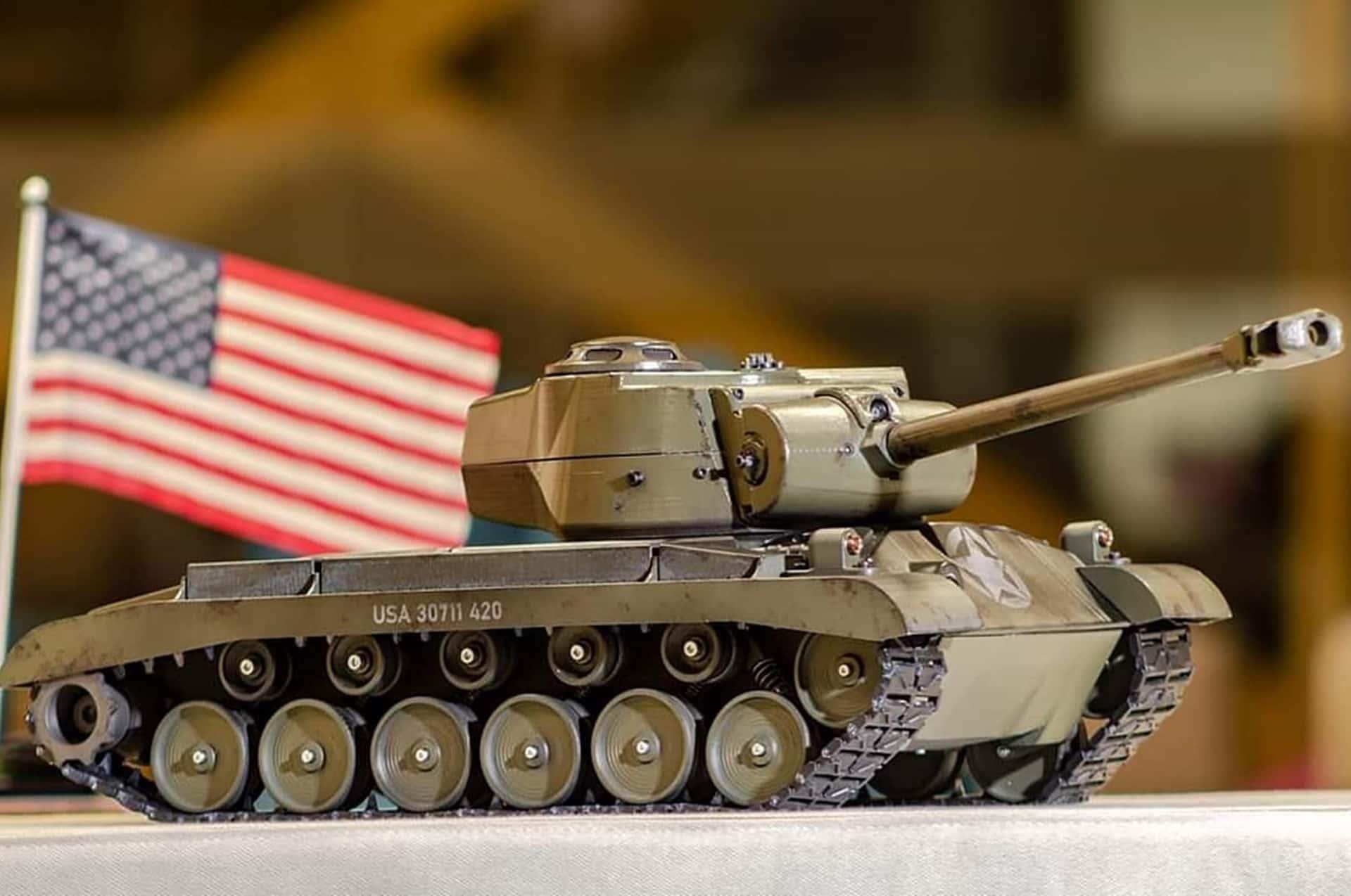 3D printed tank housing