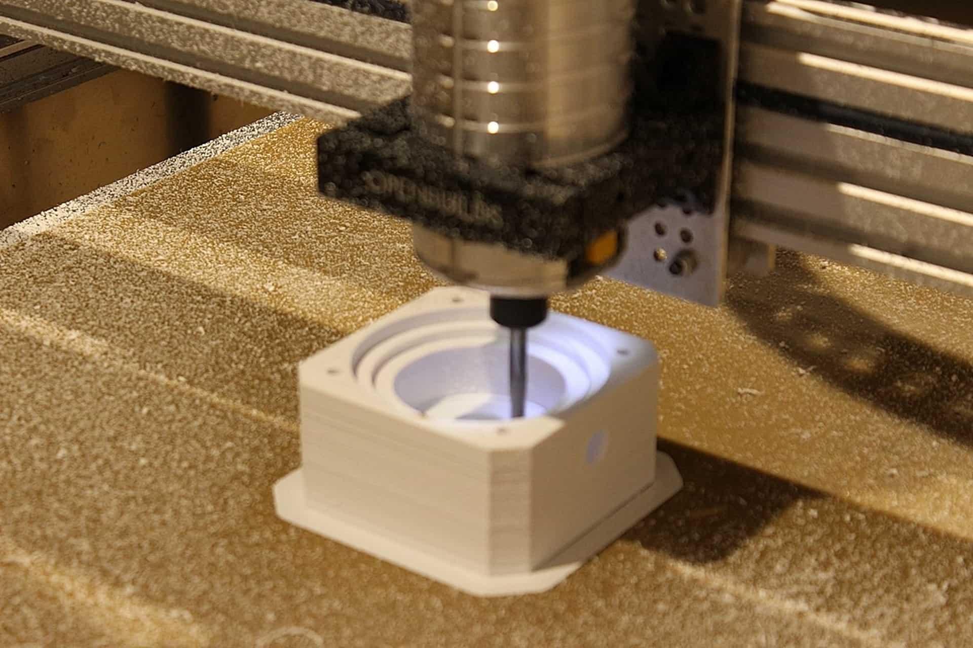 3D printed water pump housing